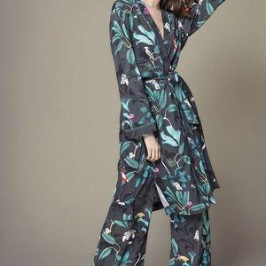 H&M x Anna Glover Kimono and Pant Set